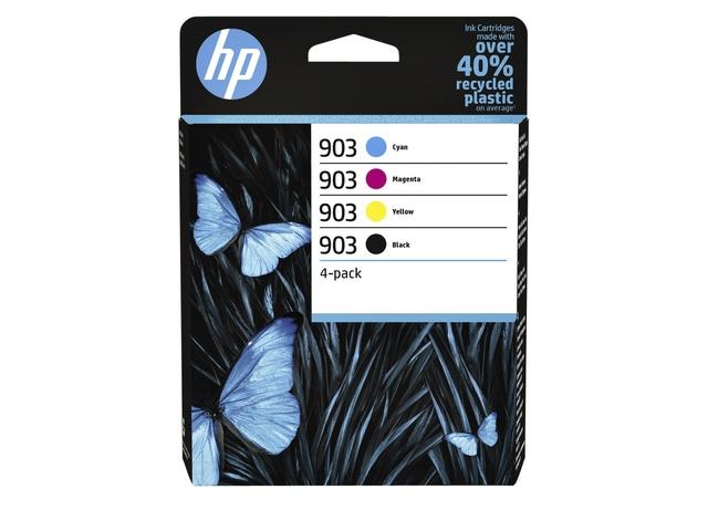 Inktcartridge HP 6ZC73AE 903 zwart + 3 kleuren
