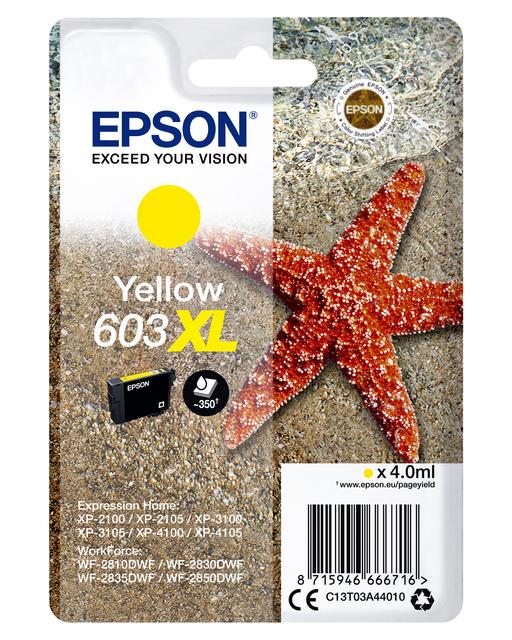 Inktcartridge Epson 603XL T03A4 geel