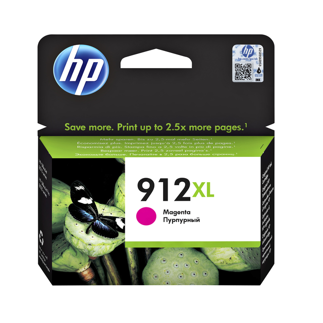 Inktcartridge HP 3YL82AE 912XL rood