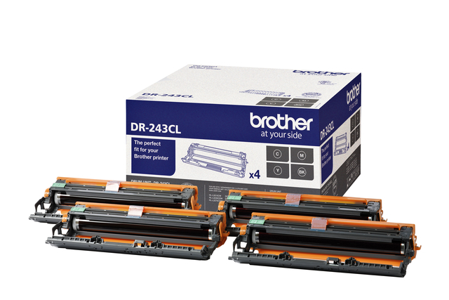 Drum Brother DR-243cL zwart 3 kleuren