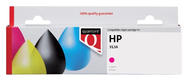 Inktcartridge Quantore HP F6T78AE 913A rood