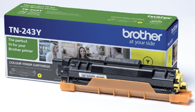 Brother toner TN-243 geel 1k