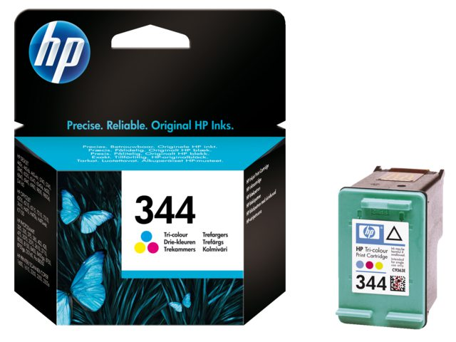 Inktcartridge HP C9363ee No 344 Tri-color
