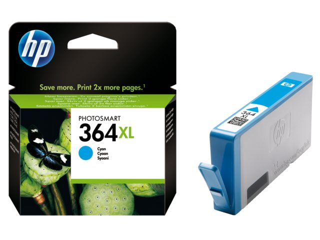 Inktcartridge HP Cb323ee No 364xl Blauw