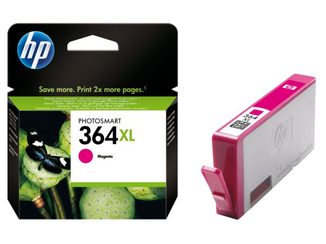 Inktcartridge HP Cb324ee No 364xl Rood