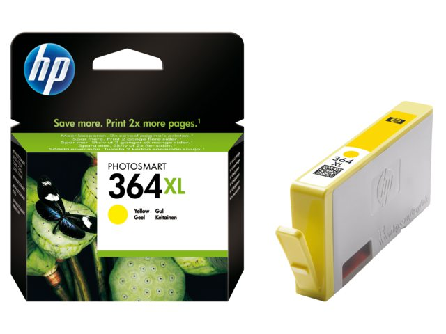 Inktcartridge HP Cb325ee No 364xl Geel