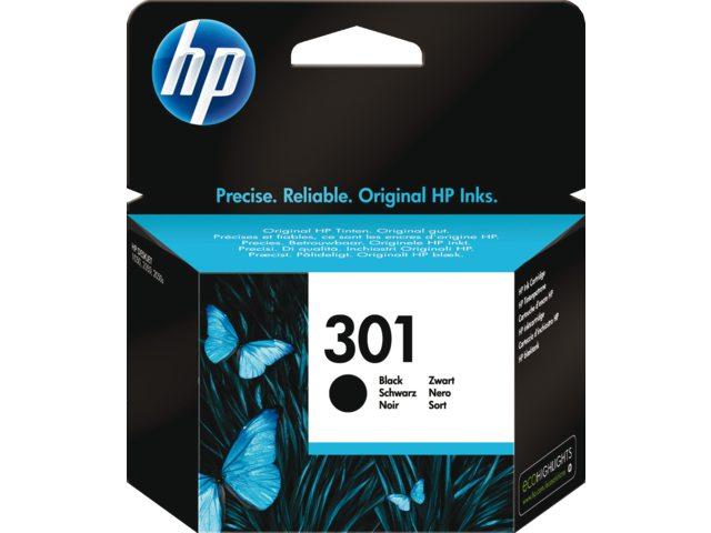 HP 301 zwart inktcartridge Ch561ee