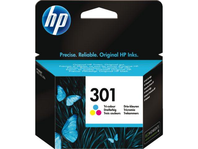 HP 301 kleur inktcartridge Ch562ee