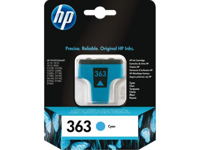 Inktcartridge HP C8771ee No 363 Blauw