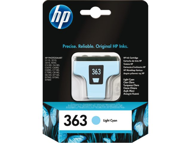 Inktcartridge HP C8774ee No 363 Lichtblauw
