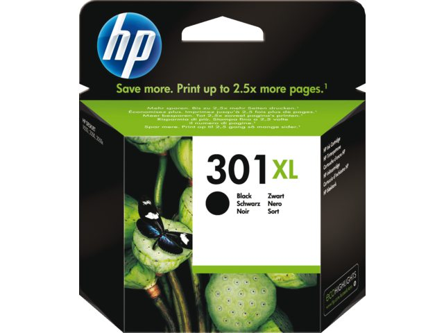 HP 301XL zwart inktcartridge Ch563ee