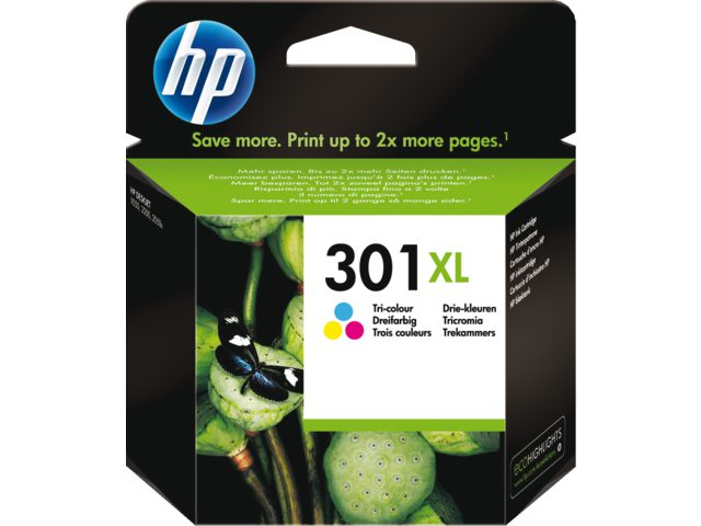 HP 301XL kleur inktcartridge Ch564ee