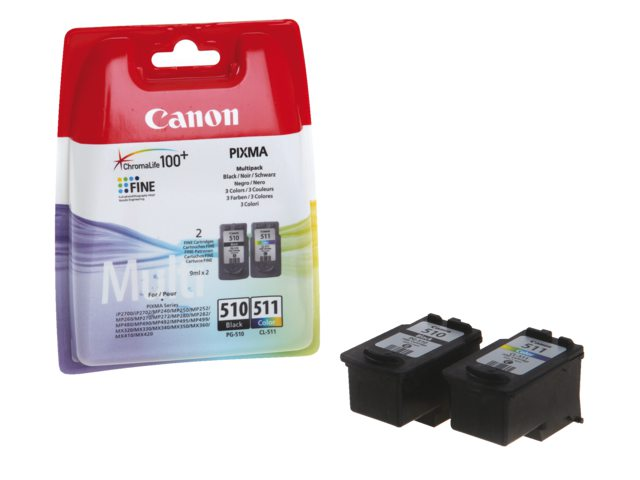 Inktcartridge Canon Pg-510/cl-511 Multipack