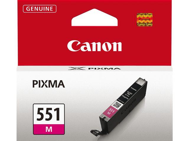 Inktcartridge Canon Cli-551 Rood