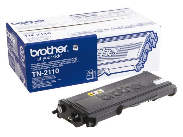 Brother toner TN-2110 zwart 1.5k