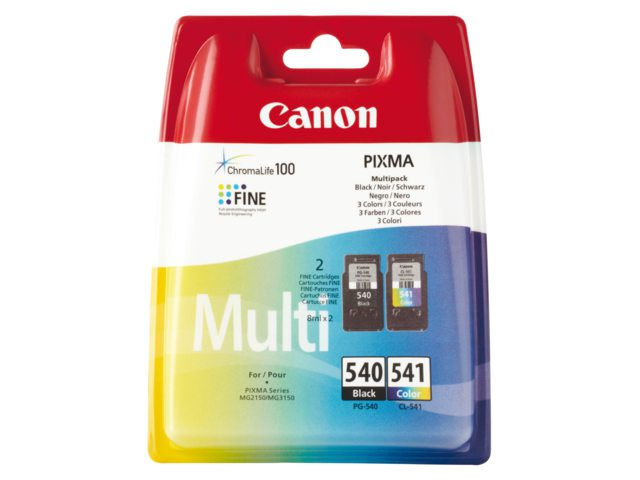 Inktcartridge Canon Pg-540 Cl-541 Multipack