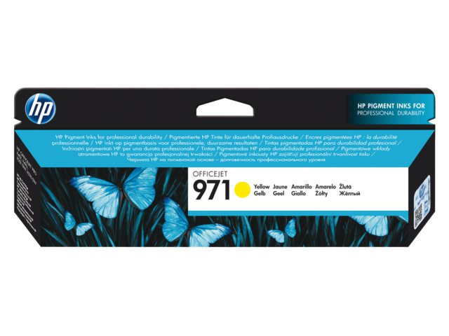 Inktcartridge HP Cn624ae No 971 2.5k Geel