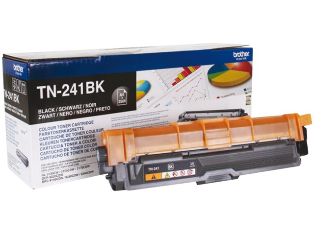 Brother tonercartridge Tn-241 2.5k zwart