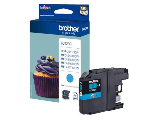 Inktcartridge Brother LC-123 Blauw