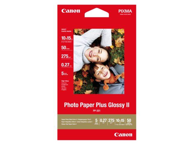 Inkjetpapier Canon Pp-201 10x15cm 260gr Glans