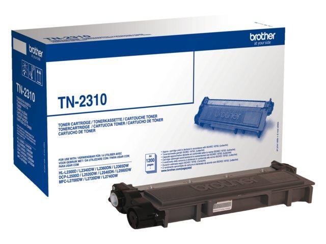 Brother tonercartridge TN-2310 zwart 1.2k
