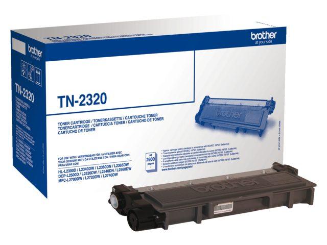 Brother tonercartridge TN-2320 zwart 2.6k
