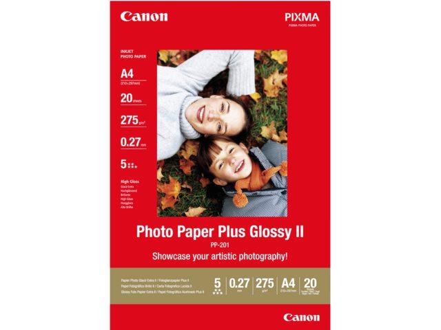 Inkjetpapier Canon Pp-201 A4 260gr Glans