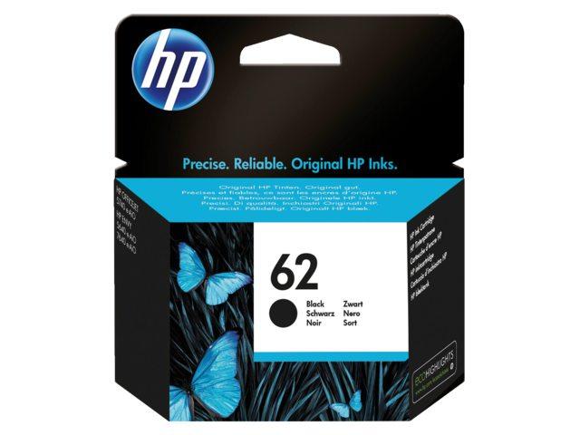 HP 62 inktcartridge C2P04AE zwart