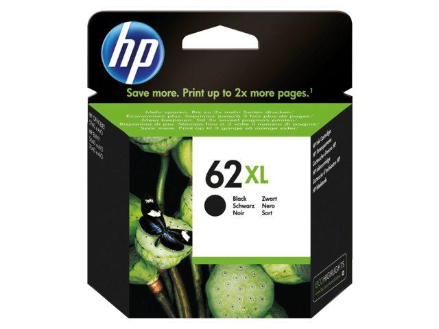 HP 62XL inktcartridge C2P05AE zwart