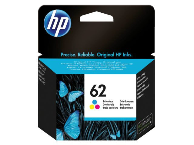 HP 62 inktcartridge C2P06AE kleur