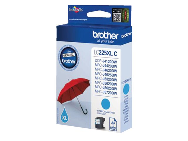 Brother inktcartridge LC-225XL blauw