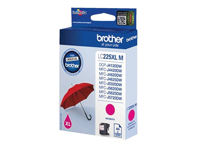 Brother inktcartridge LC-225XL rood