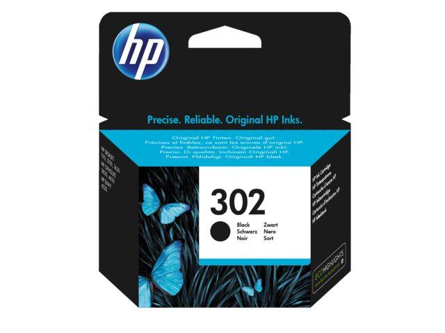 Inktcartridge HP 302 zwart F6U66AE