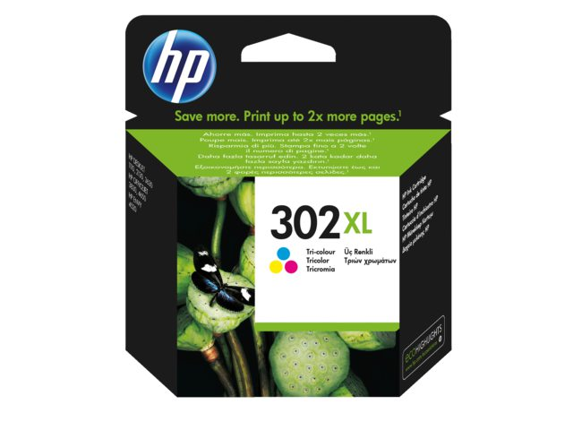 Inktcartridge HP 302 XL kleur F6U67AE