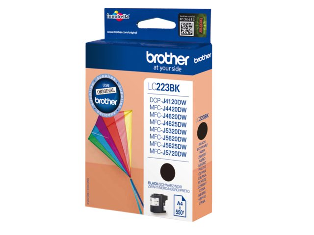 Brother inktcartridge LC-223 zwart