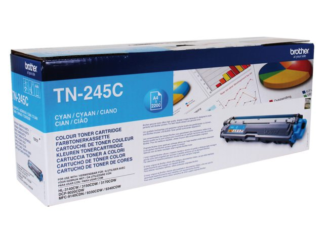 Brother tonercartridge Tn-245 2.2k blauw
