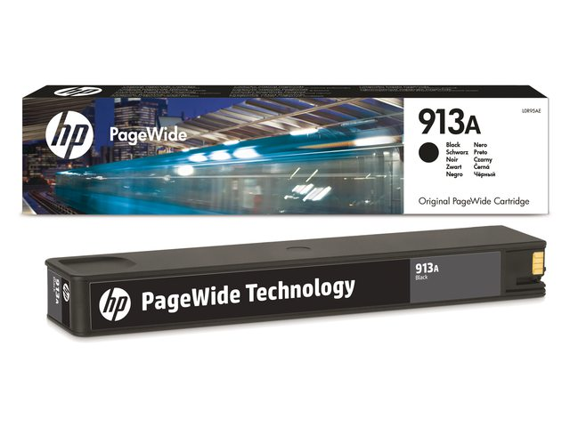 HP inktcartridge  913A zwart