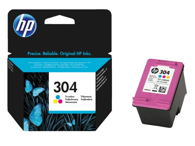 HP 304 kleurencartridge N9K05AE