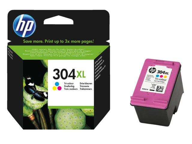 HP 304XL kleurencartridge N9K07AE