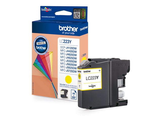 Brother inktcartridge LC223 geel