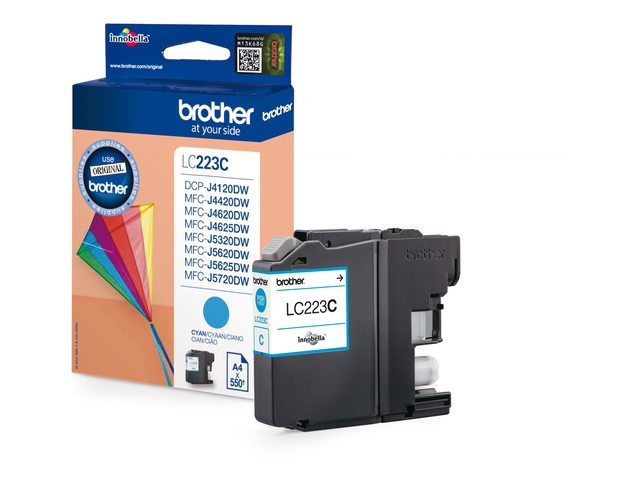 Brother inktcartridge LC223 blauw