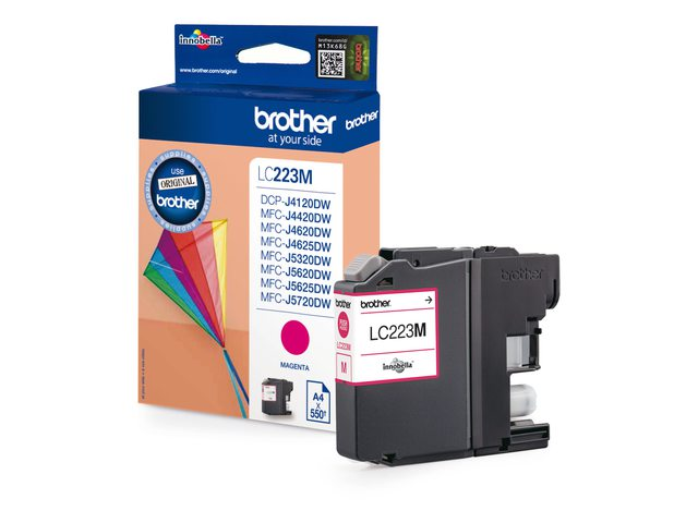 Brother inktcartridge LC-223 rood