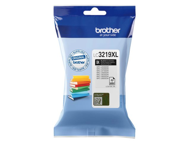 Brother LC-3219XL zwart inktcartridge