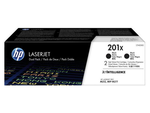 HP tonercartridge 201X CF400XD zwart 2.8k