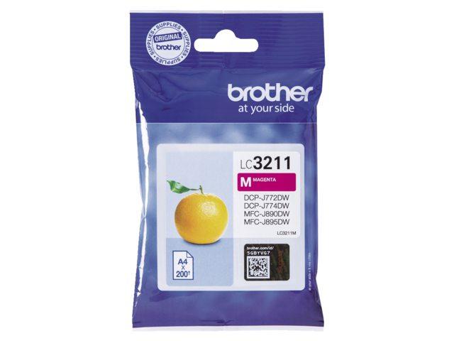 Brother LC-3211 rood inktcartridge