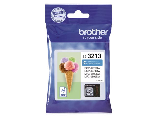Brother LC-3213 blauw HC inktcartridge