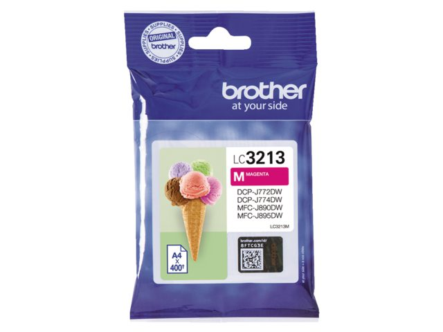 Brother LC-3213 rood HC inktcartridge