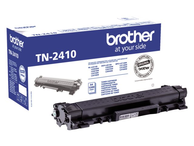 Brother TN-2410 tonercartridge zwart 1.2k