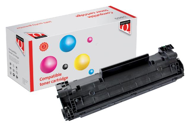 Quantore tonercartridge HP CB436A zwart 2k