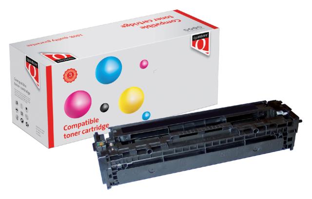 Quantore tonercartridge HP CB540A zwart 2.2k